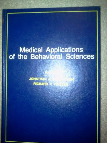 Medical applications of the behavioral sciences: J.J. Braunstein