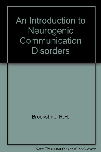 9780815112839: An Introduction to Neurogenic Communication Disorders