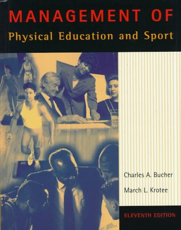 9780815113027: Management of Physical Education and Sport (Brown & Benchmark)