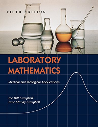 9780815113973: Laboratory Mathematics: Medical and Biological Applications