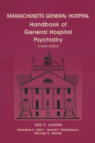 9780815114789: Massachusetts General Hospital Handbook of General Hospital Psychiatry: Year Book Handbooks Series