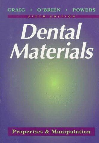 9780815119197: Dental Materials: Properties & Manipulation