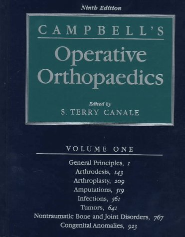 9780815120872: Campbell's Operative Orthopaedics 4 Volume Set