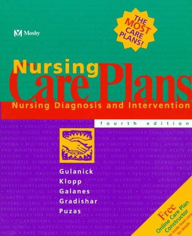 9780815124719: Nursing Care Plans: Nursing Diagnosis and Intervention