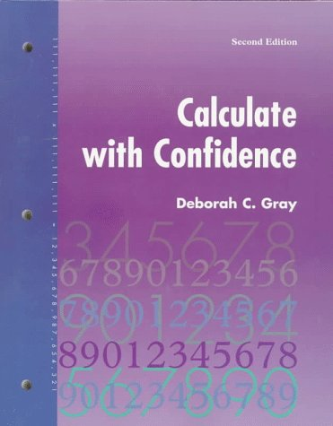 9780815126072: Calculate With Confidence
