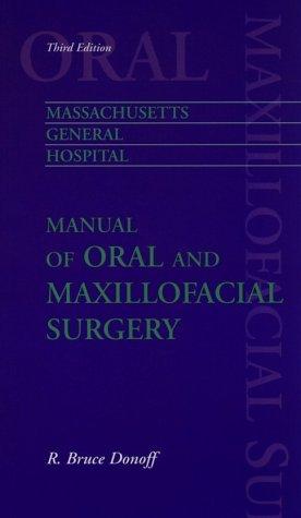 9780815127550: Massachusetts General Hospital Manual of Oral and Maxillofacial Surgery