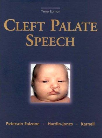 9780815131533: Cleft Palate Speech, 3e