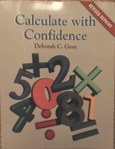 9780815135593: Calculate With Confidence