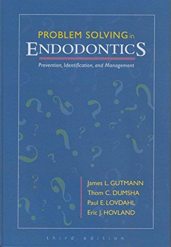 problem solving in endodontics prevention identification and management 5e