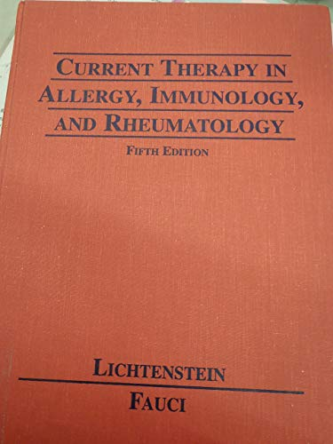 9780815153962: Current Therapy in Allergy Immunology & Rheumatology