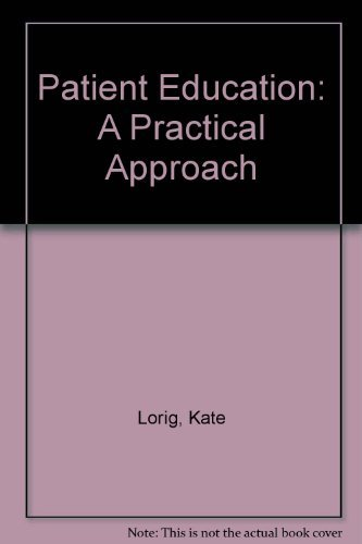9780815156079: Patient Education: A Practical Approach
