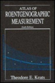 9780815156574: Atlas of Roentgenographic Measurement