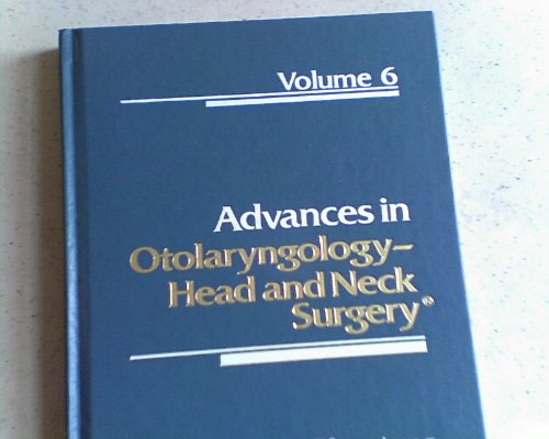 9780815162643: 006: Advances in Otolaryngology-Head and Neck Surgery (ADVANCES IN OTOLARYNGOLOGY-HEAD & NECK SURGERY)