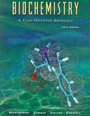 9780815164838: Biochemistry: A Case-oriented Approach