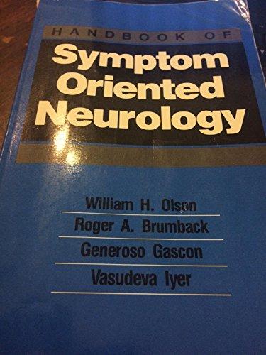 9780815165347: Hdbk Symptom Oriented Neurology