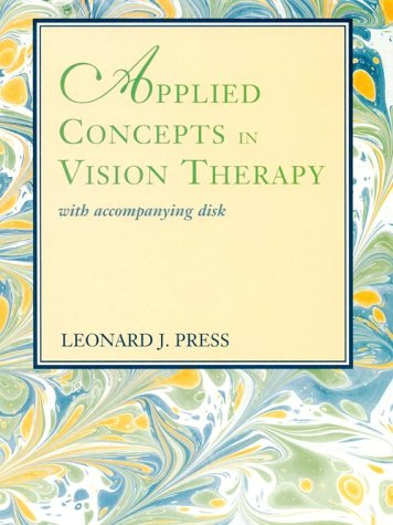 9780815167297: Applied Concepts In Vision Therapy With Accompanying Disk