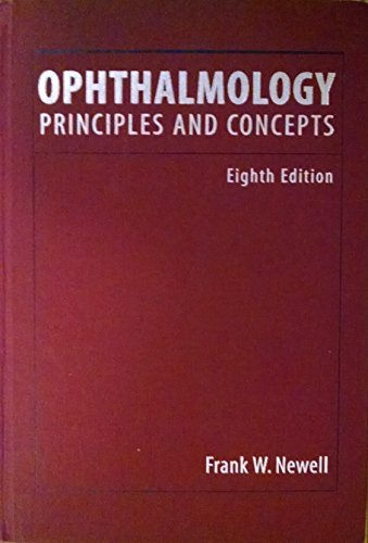 9780815170938: Ophthalmology: Principles and Concepts
