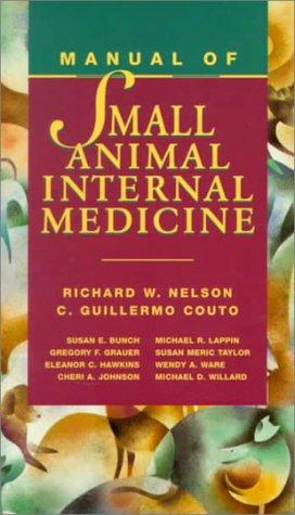 9780815172970: Manual of Small Animal Internal Medicine