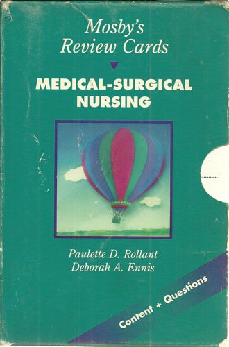 9780815173755: Mosby's Review Cards: Medical-Surgical Nursing, 1e