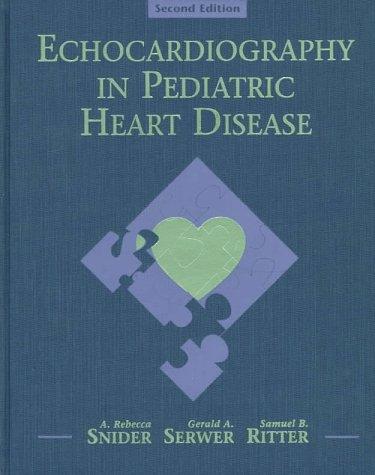 9780815178514: Echocardiography In Pediatric Heart Disease