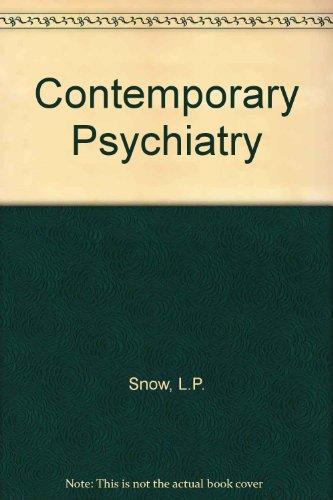9780815180258: Contemporary Psychiatry