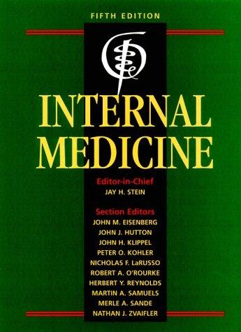 9780815186984: Internal Medicine (Internal Medicine (Stein))