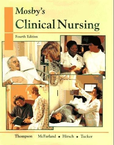 9780815188933: Mosby's Clinical Nursing (Mosby's Clinical Nursing Series)