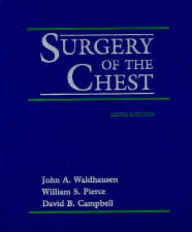 9780815192497: Surgery of the Chest