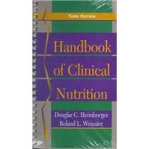 9780815192749: Handbook Of Clinical Nutrition: Clinicians' Manual of Diagnosis and Management of Nutrition Problems