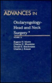 9780815198215: 12: Advances in Otolaryngology- Head and Neck Surgery