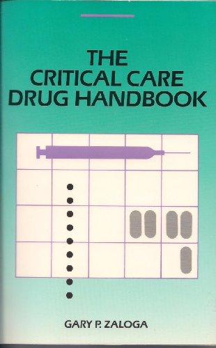 9780815198932: The Critical Care Drug Handbook
