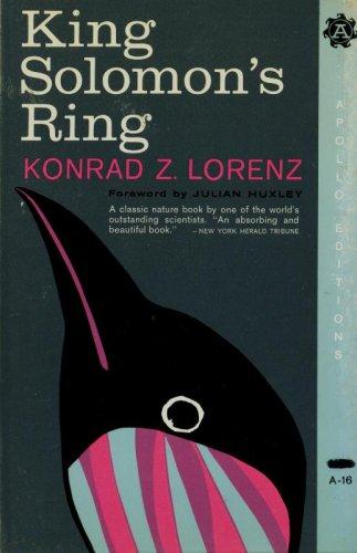 9780815200161: King Solomon's Ring: New Light on Animal Ways (Apollo editions)