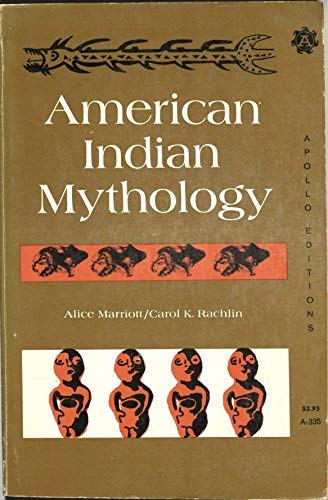 9780815203353: American Indian Mythology