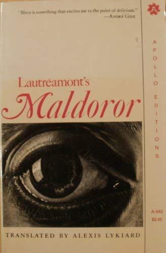 Lautréamont's Maldoror (Apollo editions) (0815203438) by Lautréamont
