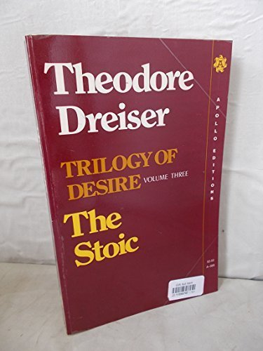 9780815203681: The Stoic (Trilogy of Desire, Vol. 3)