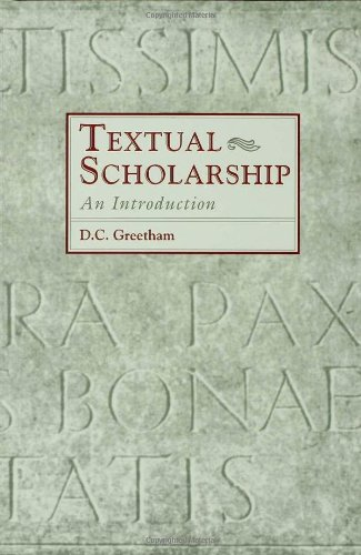 9780815300588: Textual Scholarship: An Introduction (Garland Reference Library of the Humanities)