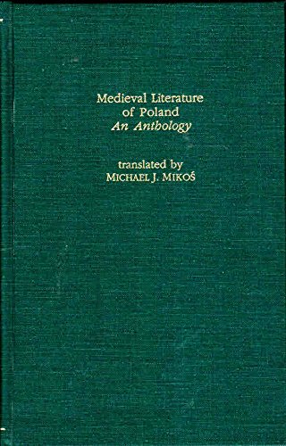 Medieval Literature Of Poland (Garland Library of Medieval Literature): Miko, Michael, Mikos, ...