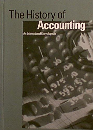 9780815308096: The History of Accounting: An International Encyclopedia