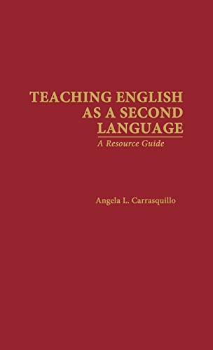 9780815308218: Teaching English as a Second Language: A Resource Guide (Source Books on Education)