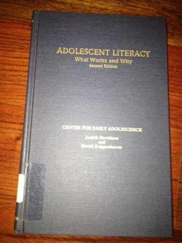 9780815308775: Adolescent Literacy: What Works and Why