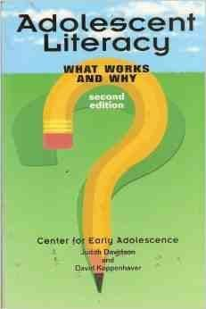 9780815309208: Adolescent Literacy, 2nd Editi (Garland Reference Library of Social Science)