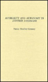 Authority and autonomy in L'entrée d'Espagne.: Bradley-Cromey, Nancy.