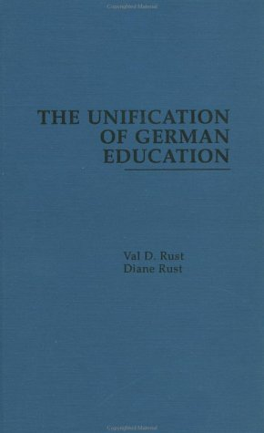 9780815317050: The Unification of German Education (Reference Books in International Education)