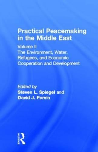 Practical Peacemaking in the Middle East The Environment Water Refugees & Economic Cooperation ...