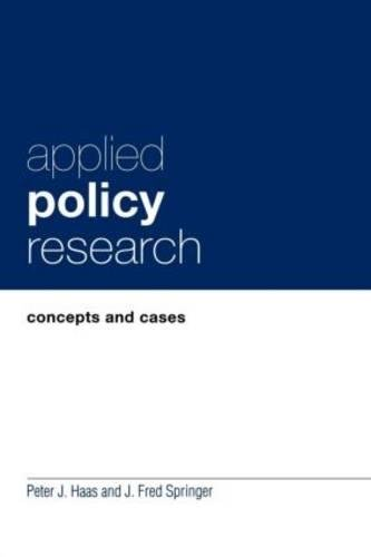 9780815320937: Applied Policy Research: Concepts and Cases (Garland Reference Library of Social Science)