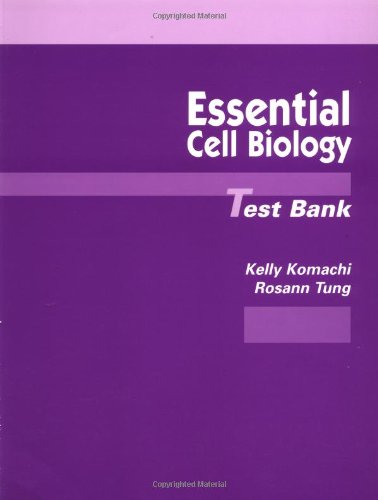 9780815327783: Essential Cell Biology Test Bank