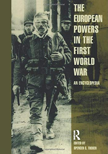 9780815333517: European Powers in the First World War: An Encyclopedia (Garland Reference Library of the Humanities)