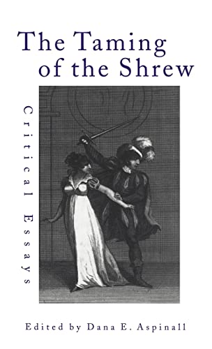 taming of the shrew essays The play 'taming of the shrew' was written by william shakespeare between 1590 and 1594 the person in the play who actually needed to be tamed was the cha.