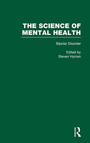 9780815337447: Science of Mental Health: Volume 1, Bipolar disorder