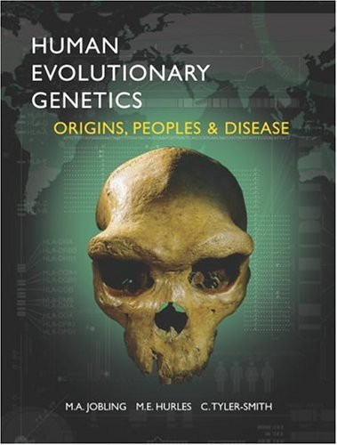 9780815341857: Human Evolutionary Genetics: Origins, Peoples and Disease